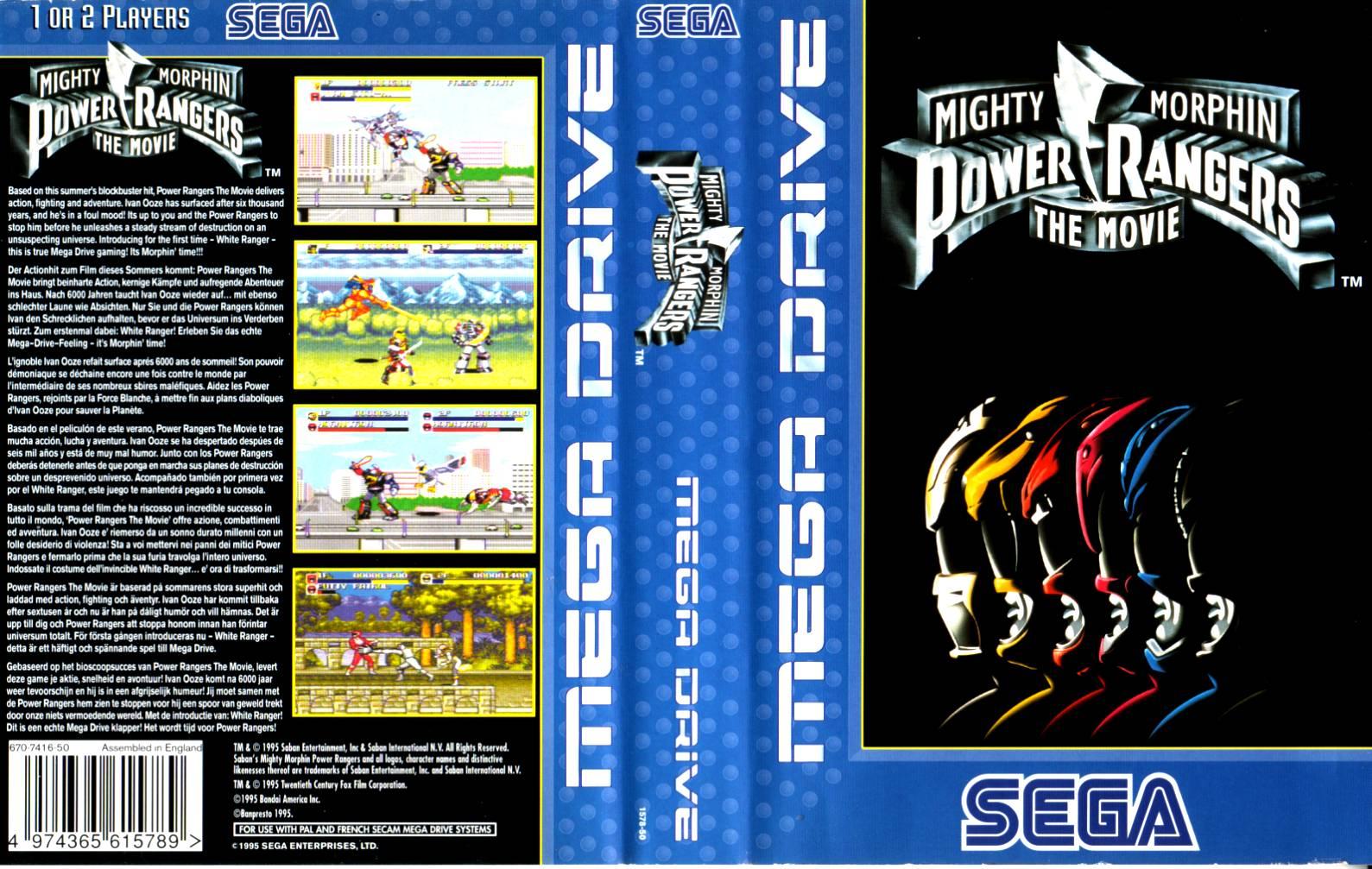 [Análise Retro Game] - Mighty Morphin Power Rangers O Filme - Mega Drive/SNES/Game Gear Mighty%20morphin%20power%20ranger%20the%20movie
